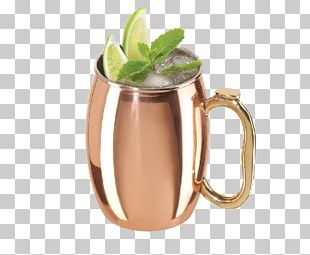 Moscow Mule Cocktail Ginger Beer Mug PNG