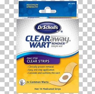 Salicylic Acid Plantar Wart Dr Scholl's Clear Away Dr. Scholl's PNG