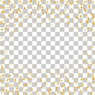 Elegant Gold Ribbon Background PNG