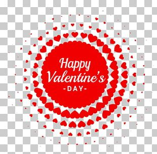 Greeting Card Valentine's Day Heart Romance PNG