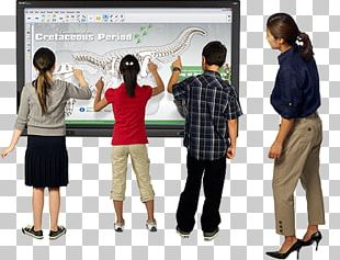 Interactive Whiteboard Dry-Erase Boards Multimedia Projectors Interactivity Arbel PNG