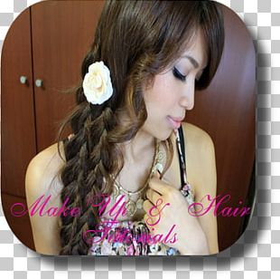 Long Hair French Braid Hairstyle Braiding Hair PNG