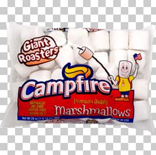 Marshmallow S'more Rice Krispies Treats Candy Campfire PNG