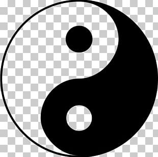 Yin And Yang Taoism Symbol Taijitu Chinese Philosophy PNG