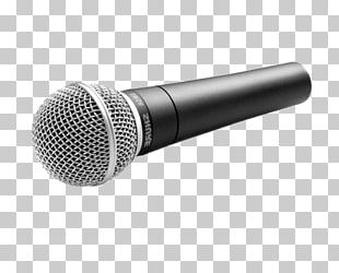 Wireless Microphone Shure SM58 Audio Music PNG