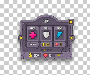 Graphical User Interface Video Game HUD PNG