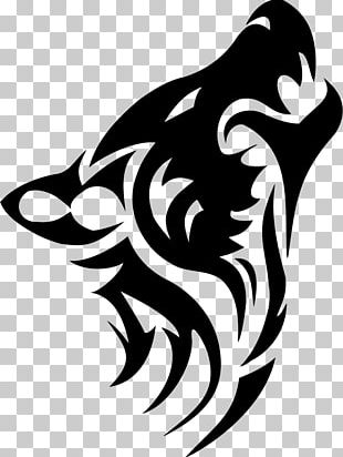 Tattoo Artist Tribe Gray Wolf Animal PNG