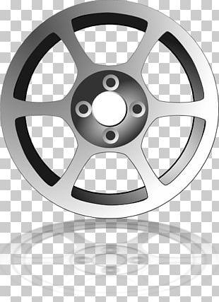 Car Wheel Rim PNG