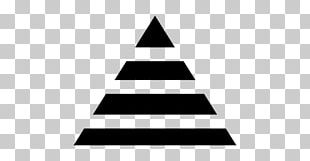 Triangle Black And White Shape PNG