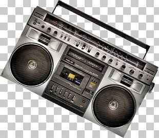Boombox Radio Tape Recorder PNG