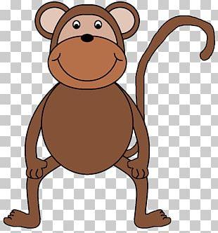Valentine's Day Monkey Heart Cuteness PNG