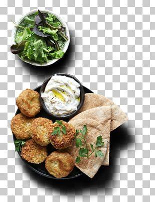 Falafel Pita Meatball Fast Food Dish PNG