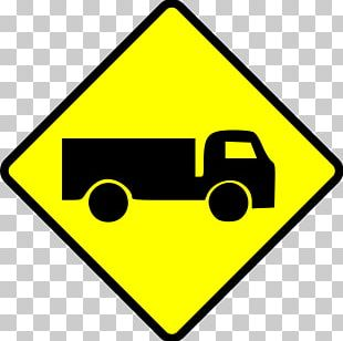 Traffic Sign Truck Warning Sign Road PNG