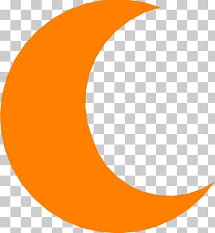 Crescent Moon Child PNG