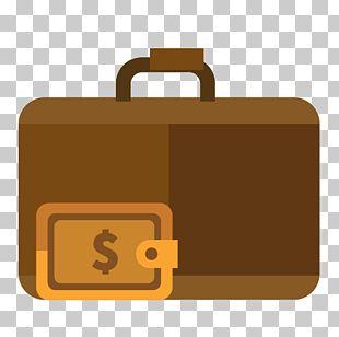 Briefcase Handbag Leather Zipper PNG