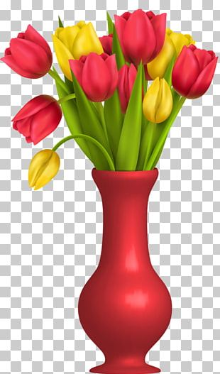 Flowers In A Vase Euclidean PNG