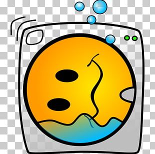 Washing Machine Smiley Laundry Symbol PNG