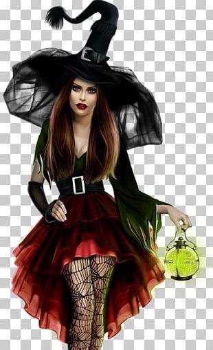 Boszorkány Vampire Halloween PNG