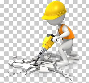 Jackhammer Animation Architectural Engineering Construction Worker PNG