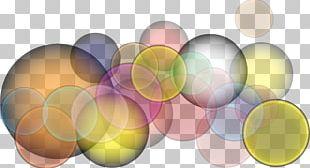 Light Bubble Color PNG