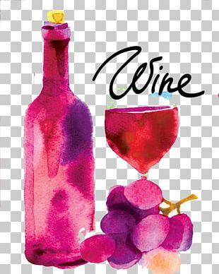 Red Wine Sparkling Wine Wine Tasting Drink PNG