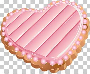 Icing Cookie Heart PNG