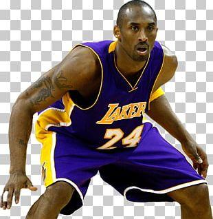 Kobe Bryant Los Angeles Lakers NBA All-Defensive Team PNG