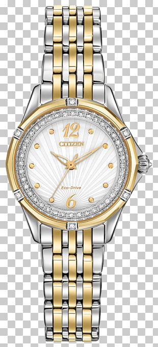 Eco-Drive Citizen Holdings Watch Bracelet Clock PNG