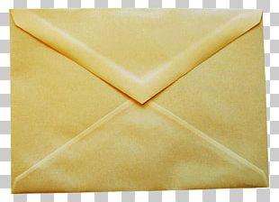 Envelope Yellow PNG