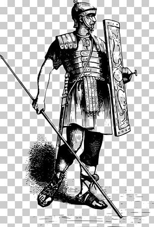 Ancient Rome Roman Army Soldier Drawing Legionary PNG