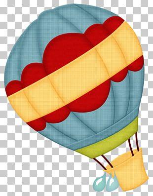Hot Air Balloon Drawing PNG