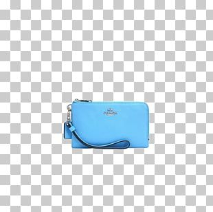 Blue Coin Purse Brand PNG