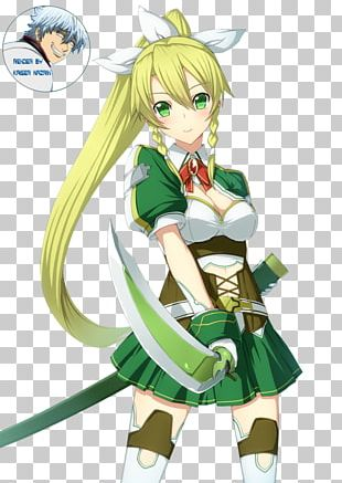 Leafa Asuna Kirito Sword Art Online PNG