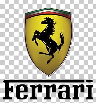 Ferrari Logo Txt PNG