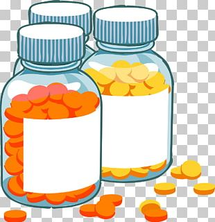 Pharmaceutical Drug Bottle Tablet Medical Prescription PNG