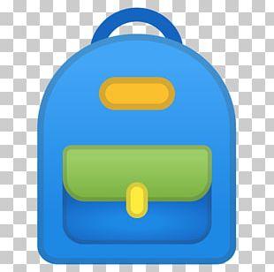 Emoji Backpack School Satchel PNG