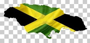 Flag Of Jamaica Map PNG
