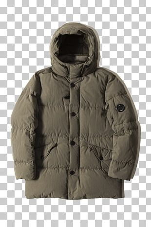 Hood Parka Down Feather Coat Jacket PNG
