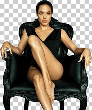 Sitting Angelina Jolie PNG