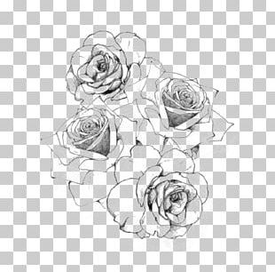 Tattoo Rose Drawing PNG