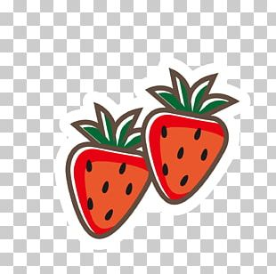 Strawberry Food Kids' Meal Illustration PNG