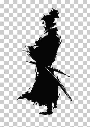 Japan Samurai Silhouette Ninja PNG