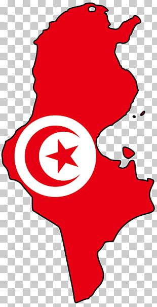Flag Of Tunisia Map National Flag PNG