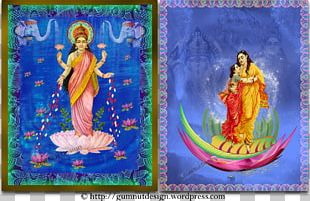 Upanishads Artist Trading Cards Painting Collage PNG