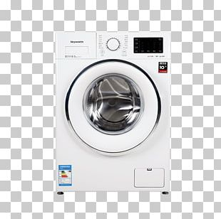 Washing Machine Clothes Dryer Home Appliance Skyworth Laundry PNG