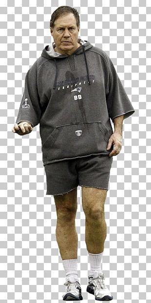 Bill Belichick New England Patriots NFL Hoodie Coach PNG
