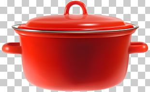 Cookware And Bakeware Red Cooking Bowl PNG