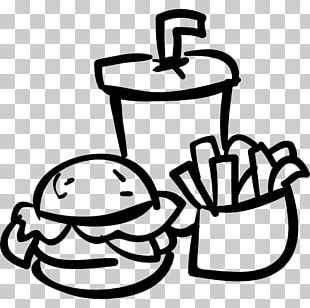Hamburger Fast Food French Fries Fizzy Drinks Hot Dog PNG