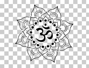 Om Nelumbo Nucifera Tattoo Symbol PNG