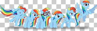 Rainbow Dash Pinkie Pie My Little Pony Color PNG